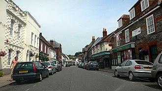 Bishop's Waltham - Image: Bishop's Waltham