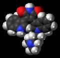 Bisindolylmaleimide I molecule spacefill.png