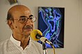 Biswatosh Sengupta Addressing - Biswatosh Sengupta Solo Exhibition Inauguration - Kolkata 2015-07-28 3298.JPG