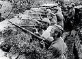 Bitwa pod Kostiuchnówką, 1 pu LP w okopach, 1916.jpg