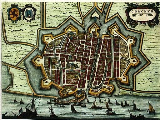 Blaeu 1652 - Gorkum