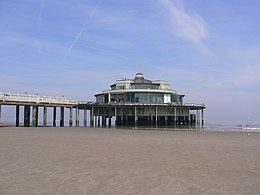 The pier at Blankenberge.