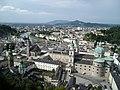 Blick von Festung Hohensalzburg Richtung Dom - panoramio.jpg