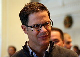 Ross Atkins (baseball) - Atkins at the 2015 MLB Winter Meetings