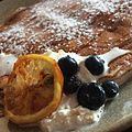 Blueberry, Lemon, and Requesón Cheese pancakes. -oakland -mexican -brunch (14867877674).jpg