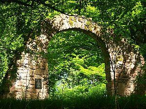 Wildeck castle ruins - the later Blumenstein Castle