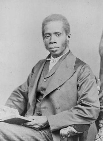 Liberian general election, 1885 - Image: Blyden E W 3c 35638r
