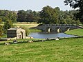 Boat House and Bridge - Kedleston Hall - geograph.org.uk - 1508223.jpg