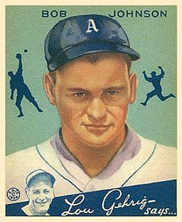 Bob Johnson (outfielder) American left fielder, born in 1905