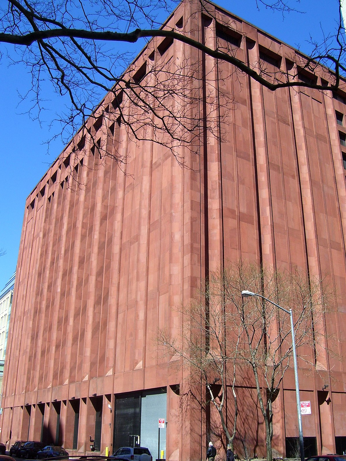 Elmer Holmes Bobst Library - Wikipedia