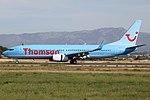Boeing 737-8K5, Thomson Airways JP7536463.jpg