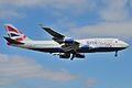 Boeing 747-400 of British Airways landing at London Heathrow Airport (1).jpg