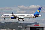 Boeing 757-330 Condor (Thomas Cook) D-ABOM (8706484599).jpg