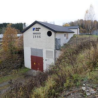Andelva - Bønsdalen hydroelectric power plant on Andelva