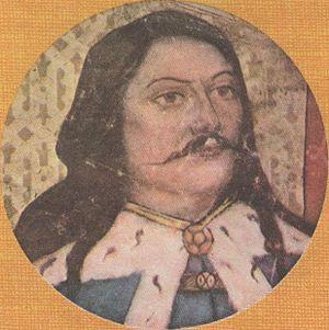 Bogdan I of Moldavia - Bogdan I (modern portrait by Pierre Bellet)