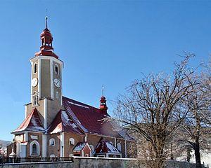 Bolesławów, Lower Silesian Voivodeship - Image: Bolesławów kościół PL
