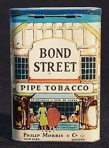 Бонд-стрит (сигарета) - Bond Street (cigarette) - qaz.wiki