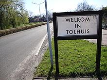 Bord Welkom in Tolhuis.JPG