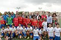 Boris Johnson & Reuven Rivlin with children from Shaar Shvyon football organization (3).jpg
