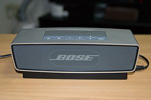 Bose Corporation - The Bose SoundLink Mini uses Bluetooth to play audio from cell phones and other portable devices