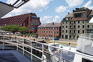Custom House Block (Boston) - Image: Boston Long Wharf 1