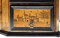 Bottega forse della germania meridionale, stipo con intarsi, 1610 ca. 08.JPG