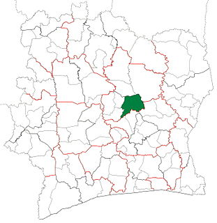 Bouaké Department Department in Vallée du Bandama, Ivory Coast