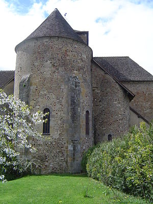 Bourbon-Lancy - Church of Saint Nazaire
