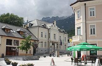 Bovec - Administration building