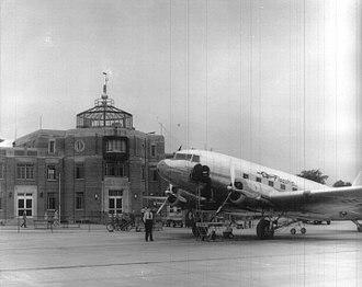 Bowman Field (airport) - Bowman Field, Louisville, c. 1940