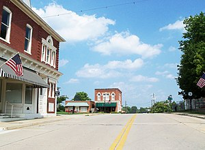 Boydton, Virginia - Street scene in Boydton
