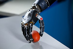 Artificial organ - Image: Brain Controlled Prosthetic Arm 2