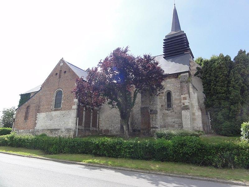 Braye-en-Thiérache (Aisne) église