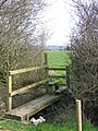 Bridge Stile and Footpath towards Tarporley - geograph.org.uk - 387294.jpg