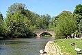 Bridge over the millstream at Wolvercote - geograph.org.uk - 1897247.jpg