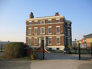 Port of Runcorn - Bridgewater House in 2004