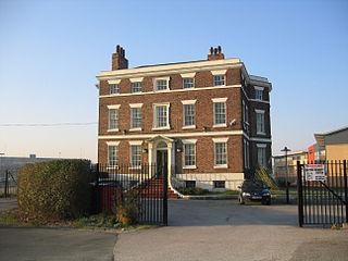 Bridgewater House, Runcorn Grade II listed building in Runcorn, Cheshire