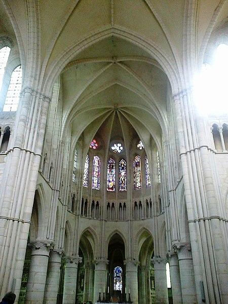 Brie Orbais Abbaye Saint-Pierre Paul Choeur