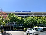 Brisbane International Terminal with access viaducts to the Arrivals and Departures levels in front of the building 02.jpg