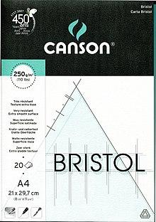 Papier Bristol Wikipedia