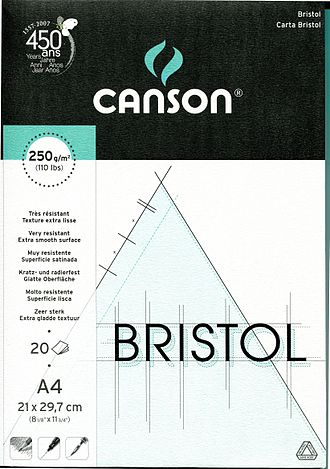 Bristol board - French-made Bristol paper packaging front