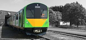 Go-Op (train operating company) - Image: British Rail Class 230