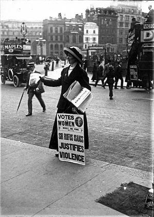 Suffragette Sally cover
