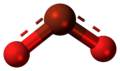 Bromine dioxide molecule ball.png