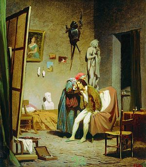 Fyodor Bronnikov - The Sick Artist