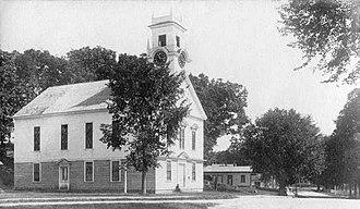 Brookline, New Hampshire - Brookline Community Church in 1906
