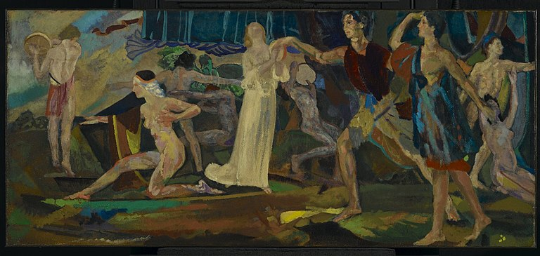 Brooklyn Museum - Freshness of the Wounded - Arthur B. Davies - overall