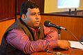 Bubai Bag - Presentation - Aksamata Theke Saksamatar Bikalpa Sandhan Sahayatamulak Prajuktir Nanadik - Bengali Wikipedia 10th Anniversary Celebration - Jadavpur University - Kolkata 2015-01-10 3206.JPG