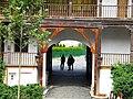 Bucuresti, Romania. Hanul lui Manuc. Poarta. DSCN7739.jpg