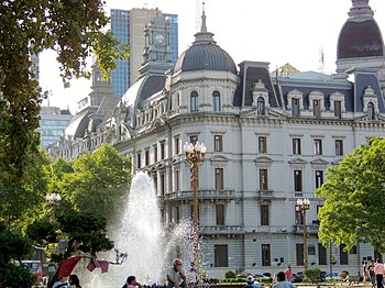 Buenos Aires City Hall Summer afternoon